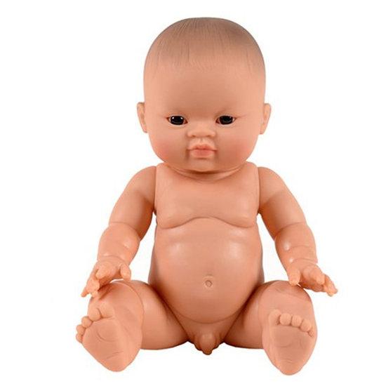 Paola Reina Babypop jongen Aziatisch donkere ogen Paola Reina