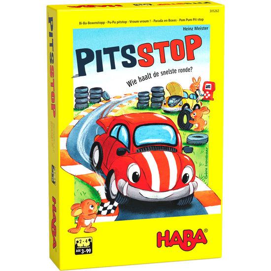 Haba Dobbelspel Pitsstop - Haba