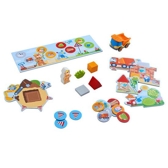 Haba Spel - Mijn eerste spellen – Bouwplaats - Haba