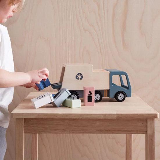 Kid's Concept Spielzeug Müllwagen Aiden - Kids Concept