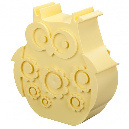 Blafre Lunch box owl light yellow - Blafre