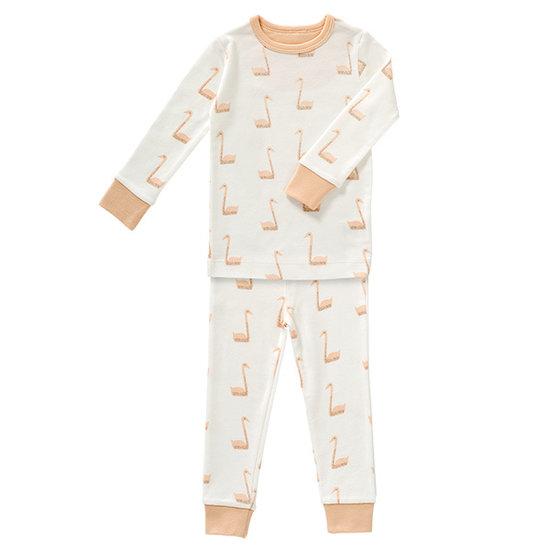 Fresk Pyjama 2-Teilig Schwan - Fresk