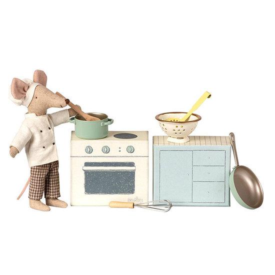 Maileg Maileg kokskleding - vader en moeder muis