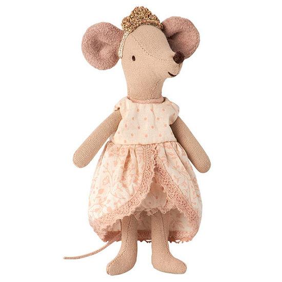 Maileg Maileg prinsessenjurk roze micro grote zus muis