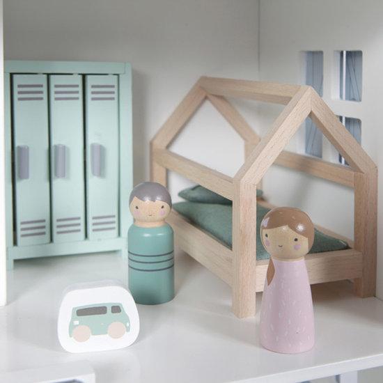 Little Dutch Dollhouse play set kids room - Little Dutch