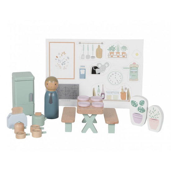 Little Dutch Dollhouse play set kitchen - Little Dutch