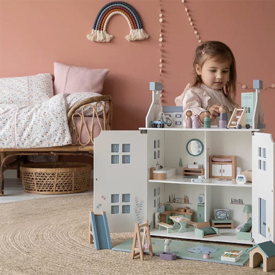 Little Dutch Dollhouse play set nursery - Little Dutch