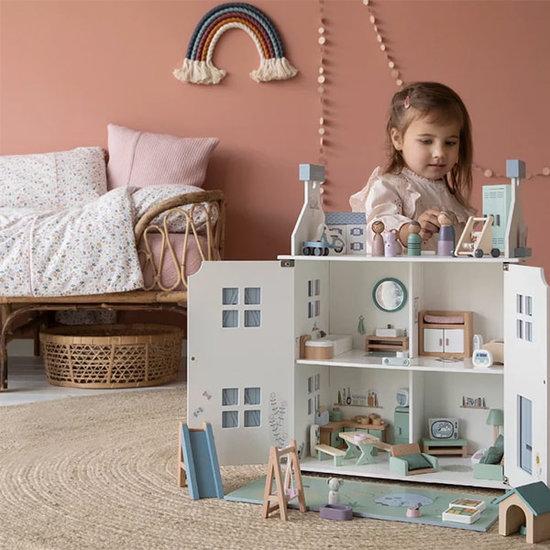 Little Dutch Puppenhaus Spielset Haustiere - Little Dutch