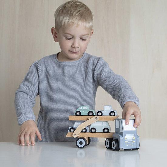Little Dutch Little Dutch Holz Autotransportwagen