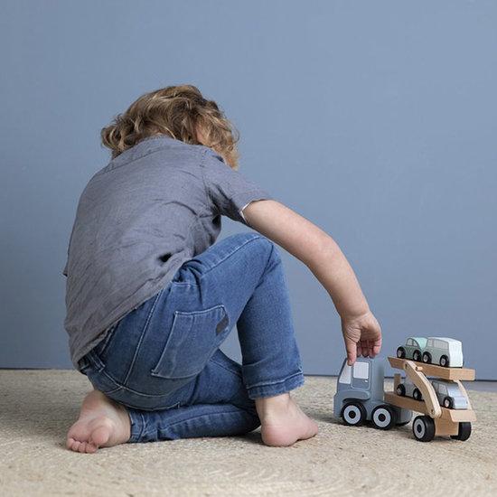 Little Dutch Little Dutch camion transporteur en bois