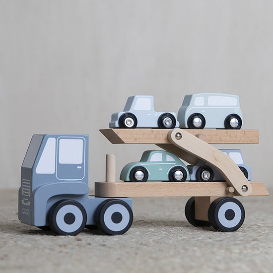 Little Dutch Little Dutch houten transportwagen