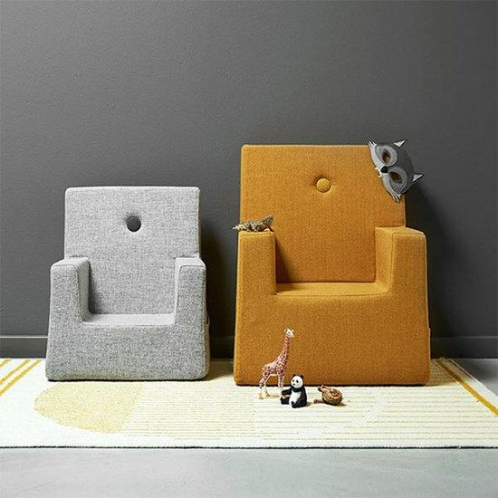 by KlipKlap by KlipKlap KK chaise enfant mustard