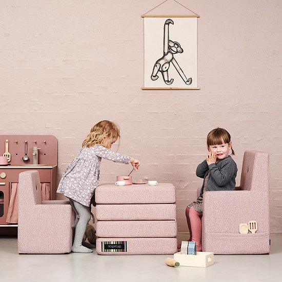 by KlipKlap by KlipKlap KK chaise enfant rose