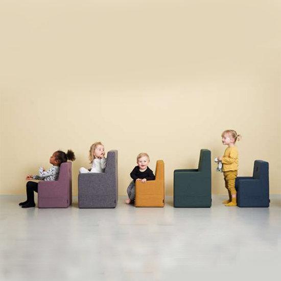 by KlipKlap by KlipKlap KK chaise enfant XL vert foncé