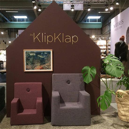 by KlipKlap by KlipKlap KK kinderstoel XL plum