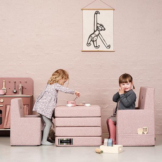 by KlipKlap by KlipKlap KK chaise enfant XL rose