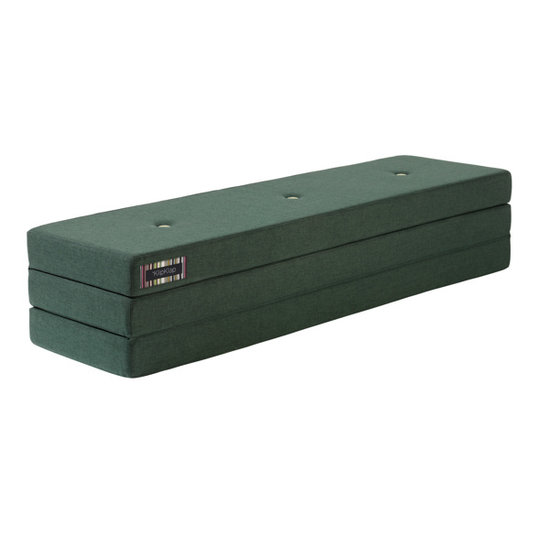 by KlipKlap by KlipKlap KK 3 Fold XL mattress deep green