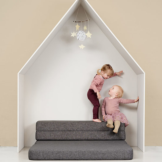 by KlipKlap by KlipKlap KK 3 Fold sofa bank blauw grijs
