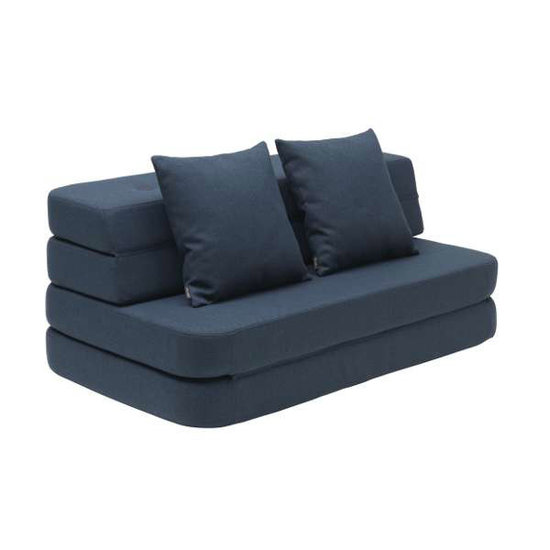 by KlipKlap by KlipKlap KK 3 Fold XL sofa bank donkerblauw
