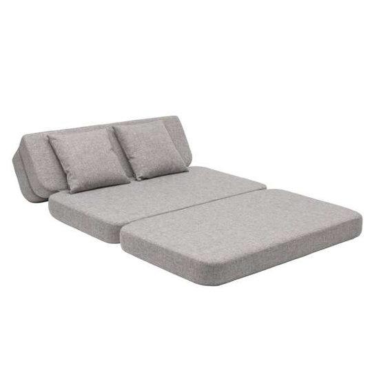 by KlipKlap by KlipKlap KK 3 Fold XL sofa bank lichtgrijs