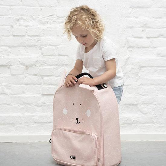 Trixie Baby Valise trolley de voyage Mme Lapin - Trixie