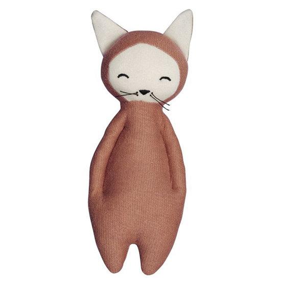 Fabelab Rammelaar knuffel Fox - Fabelab