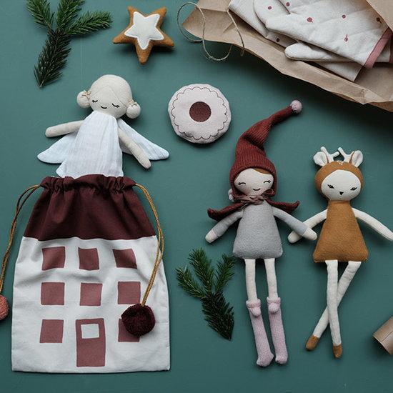 Fabelab Doll Winter Fairy 30 cm - Fabelab