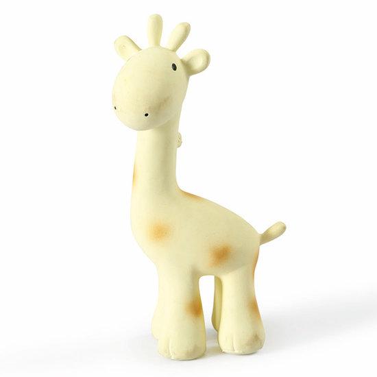 Tikiri Tikiri bath toy with bell giraffe