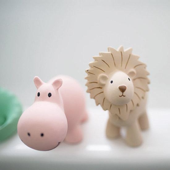 Tikiri Tikiri badspeeltje met belletje nijlpaard