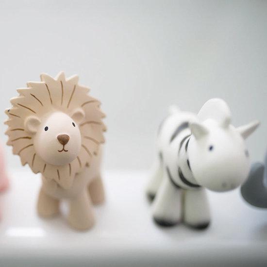 Tikiri Tikiri bath toy with bell zebra