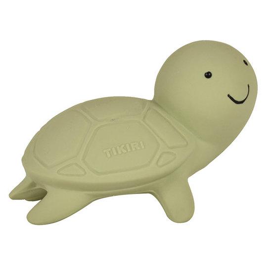 Tikiri Tikiri bath toy with bell turtle
