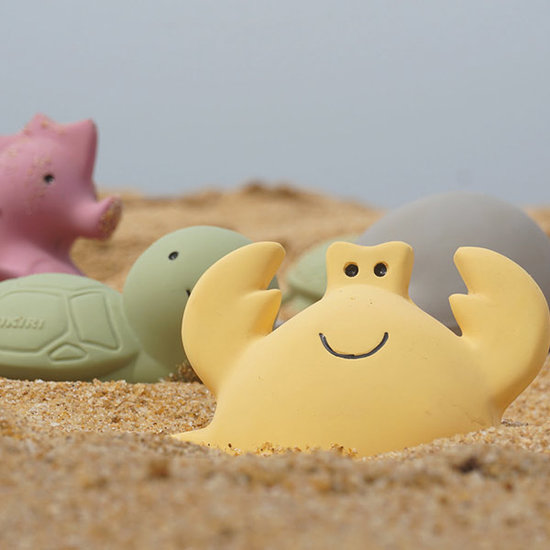 Tikiri Tikiri bath toy with bell sea horse