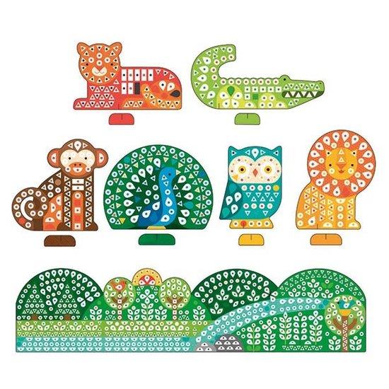Petit Collage Bastelset Sticker Karten Tiere - Petit Collage