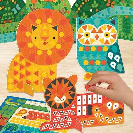 Petit Collage Knutselpakket stickers dieren - Petit Collage