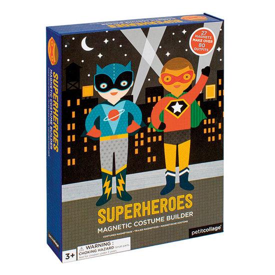Petit Collage Magnetbuch verkleiden Superhelden - Petit Collage