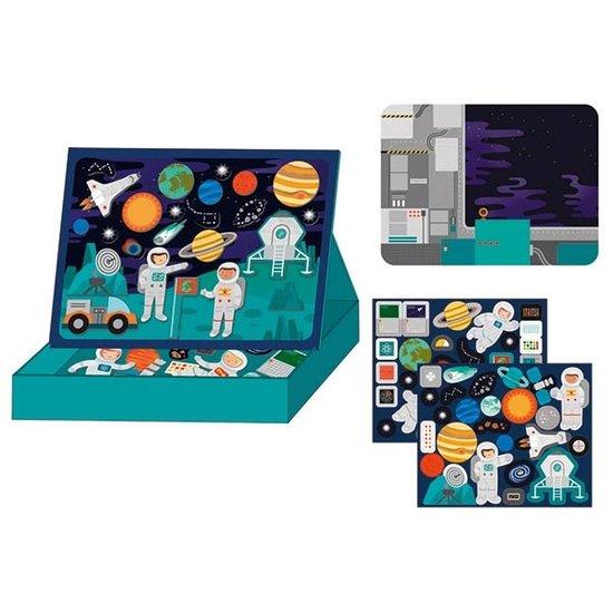 Petit Collage Magneetboek ruimte - Petit Collage