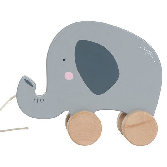 Little Dutch Trekdier olifant - Little Dutch