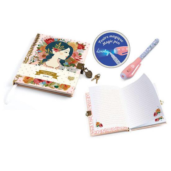 Djeco Secret diary with magic pen Oana - Djeco
