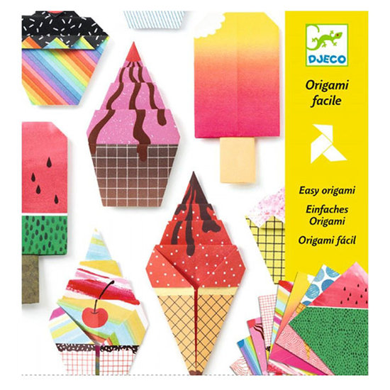 Djeco Vouwblaadjes Origami zoete lekkernijen - Djeco