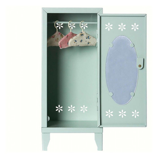 Maileg Maileg locker - wardrobe mint