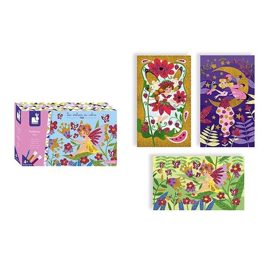 Janod speelgoed Craft set glitter fairies - Janod