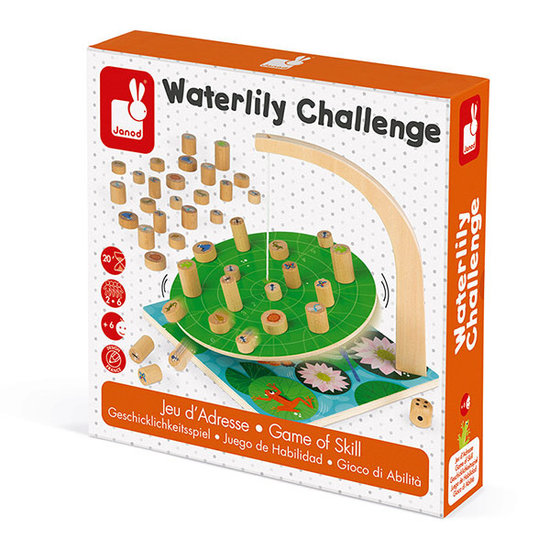 Janod speelgoed Skill game Waterlily Challenge - Janod
