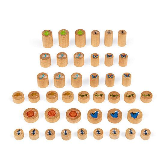 Janod speelgoed Geschicklichkeitsspiel Waterlily Challenge - Janod