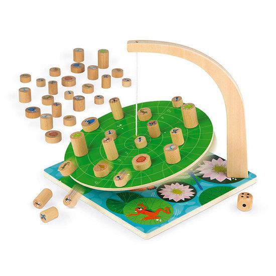 Janod speelgoed Behendigheidsspel Waterlily Challenge - Janod