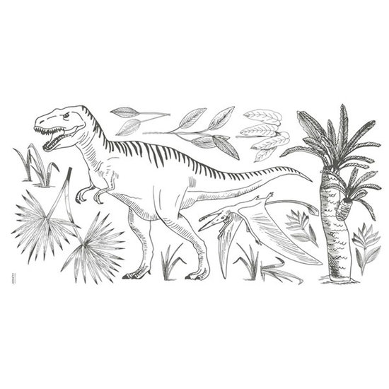 Lilipinso Sticker mural XL dinosaure T-Rex - Lilipinso