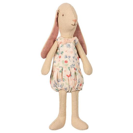 Maileg Maileg konijn Mini light Bunny flower suit roze