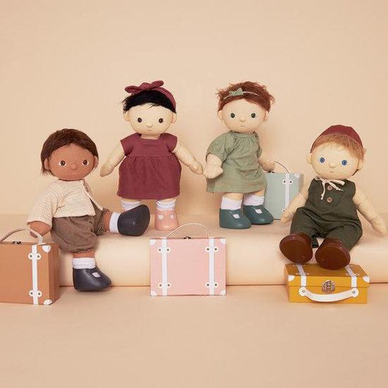 Olli Ella Olli Ella Dinkum doll travel togs suitcase mint
