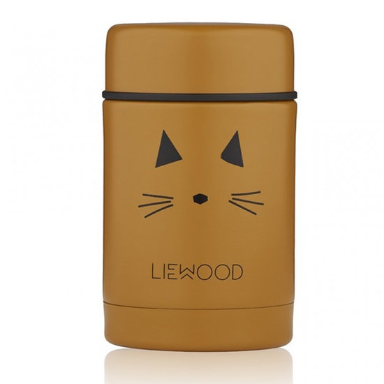 Liewood Liewood lunch box isotherme Nadja Cat mustard