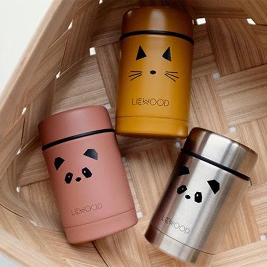 Liewood Liewood Nadja food jar Cat mustard