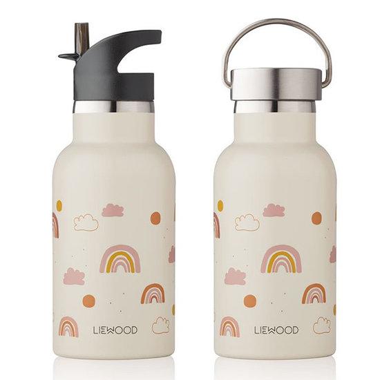 Liewood Liewood drinking bottle Anker Rainbow love sandy